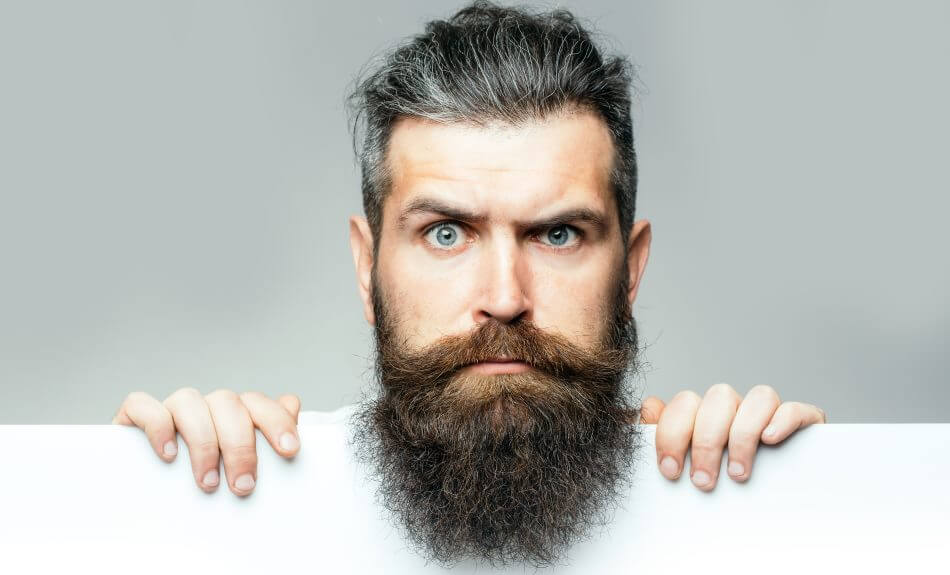 mere skægvækst