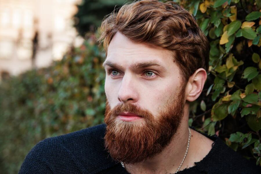 moderne skæg
