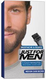 hårfarve til skæg