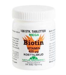 Biotin tabletter
