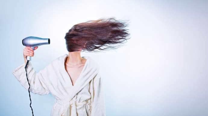 skadet hår behandling