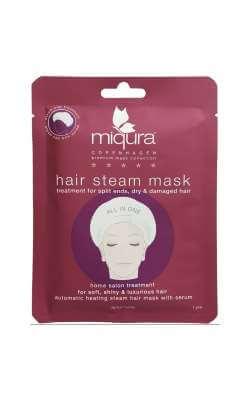 Miqura Hair steam hårkur mod tørt hår