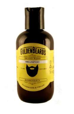 Økologisk skægshampoo fra golden beards
