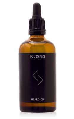 Njord beard oil