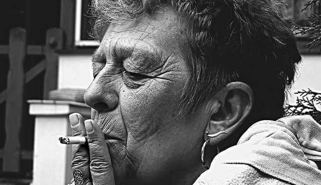rygerynker ved munden