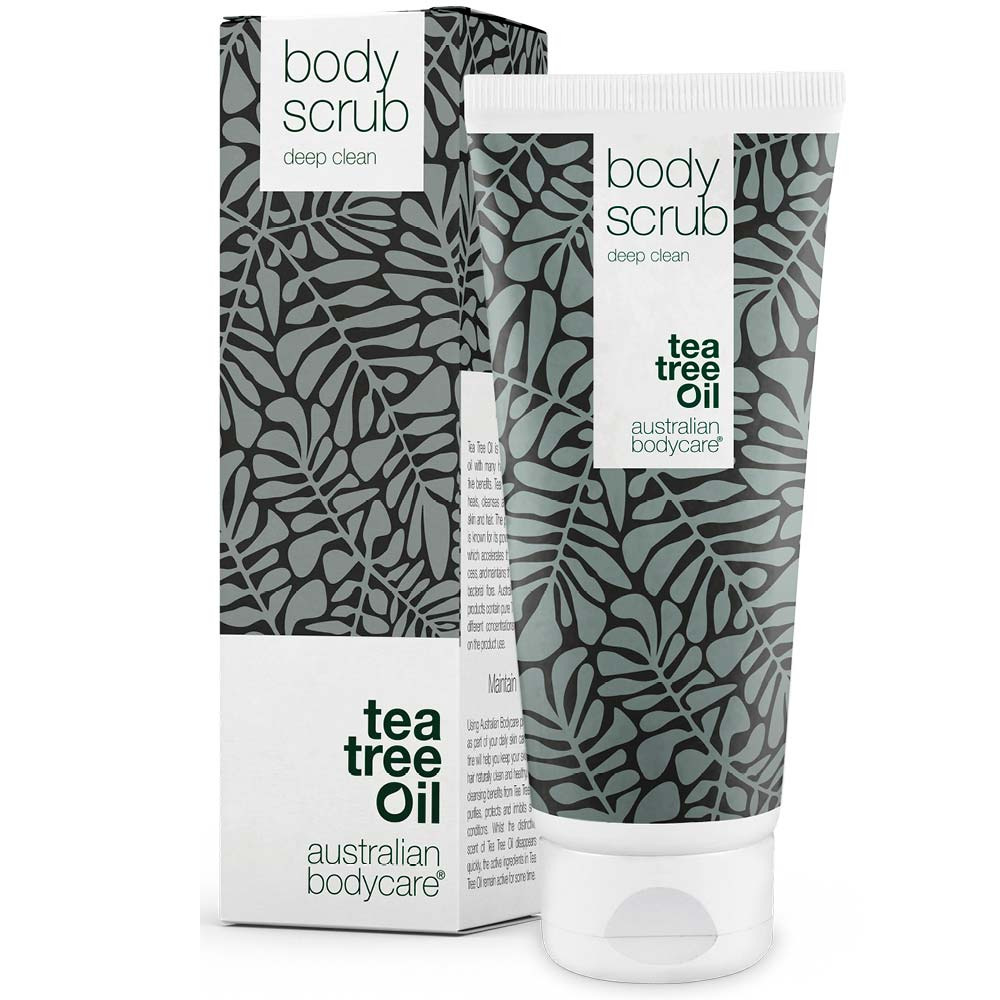 Body Scrub med Tea Tree Oil