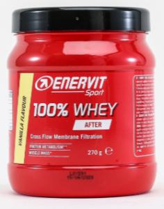 Enervit E.Sport Whey 100% - god fordeling mellem makroer