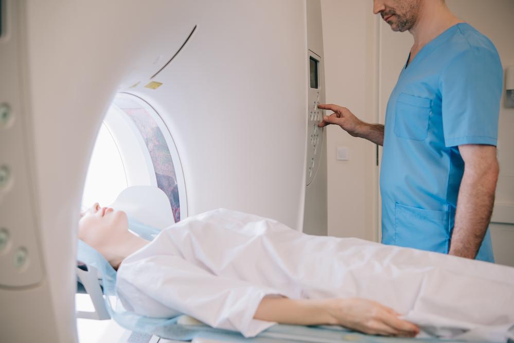 MR-scanning nakke